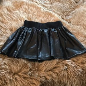 Josh Love faux leather skirt
